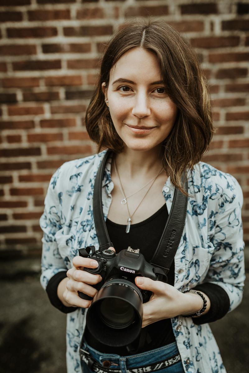 Portraitfotografin Kristina aus München