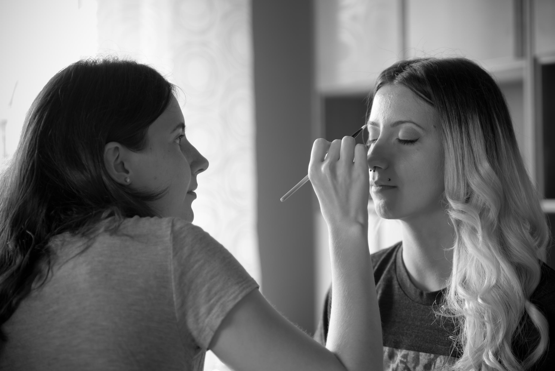 Foto MakeUp und Hairstyling gemacht von Visagistin